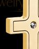 Gold Men's Truthful Cross Urn Jewelry