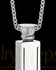 Stainless Men's Truthful Cross Jewelry Urn