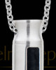 Men's Vitality Cylinder Stainless Jewelry Urn