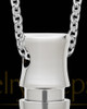 Men's Steel Mighty Cylinder Urn Pendant