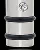 Men's Silver Determination Cylinder Cremation Jewelry