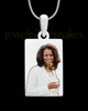Photo Engraved Full Color Rectangle Pendant Stainless Steel