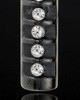 Ashes Jewelry Stainless Black Miracle Cylinder