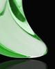 Ash Jewelry Green Crescent Glass Locket