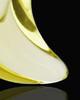 Ash Jewelry Yellow Crescent Glass Locket