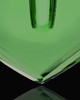 Necklace Urn Green Kind Heart Glass Locket