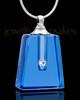 Memorial Jewelry Indigo Reverence Glass Locket