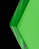Jewelry Urn Green Honesty Glass Locket