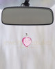 Breathless Heart Glass Reflection Pendant