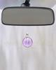 Violet Security Glass Reflection Pendant