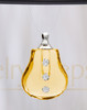 Yellow Sprinkle Glass Reflection Pendant