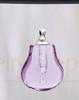 Violet Sprinkle Glass Reflection Pendant