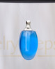 Blue Forever Glass Reflection Pendant