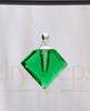 Emerald Fascination Glass Reflection Pendant