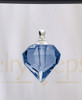 Indigo Teardrop Glass Reflection Pendant