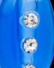 Royal Blue Mystic Glass Teardrop Pendant