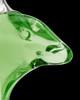 Urn Necklace Green Aquatic Glass Locket