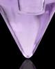 Urn Necklace Lavender Spinner Glass Locket