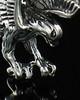 Ash Urn Locket Sterling Silver Diving Eagle