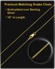 14k Gold Summer Days Sandal Cremation Necklace