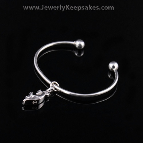 Remembrance Jewelry Bracelet Sterling Silver Horse