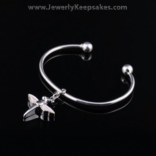Remembrance Jewelry Bracelet Sterling Silver White Dragon