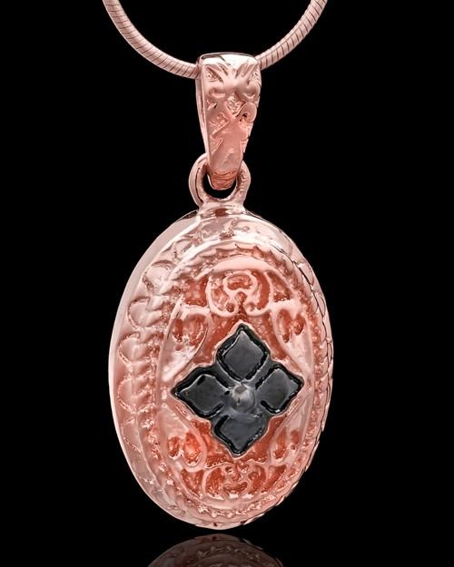 Rose Gold Plated Faithfulness Keepsake Jewelry