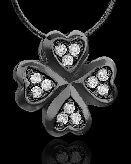 Black Plated My Clover Keepsake Jewelry