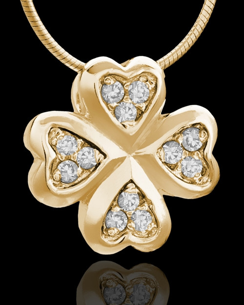 Gold Plated My Clover Keepsake Jewelry