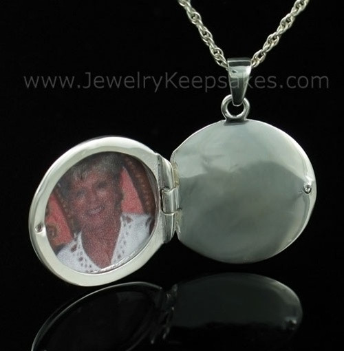 Remembrance Jewelry Sterling Silver Etched Sphere Keepsake