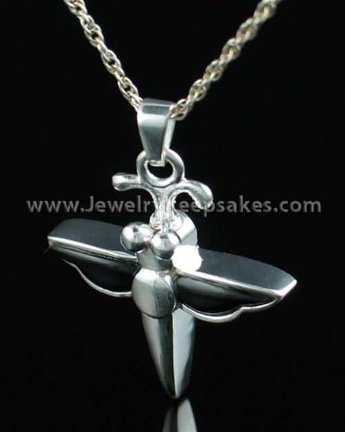 Jewelry Urn Sterling Silver Night Dragon Keepsake