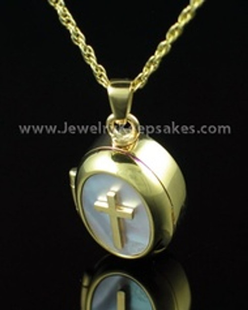 Cremation Keepsake 14K Gold Sanctity