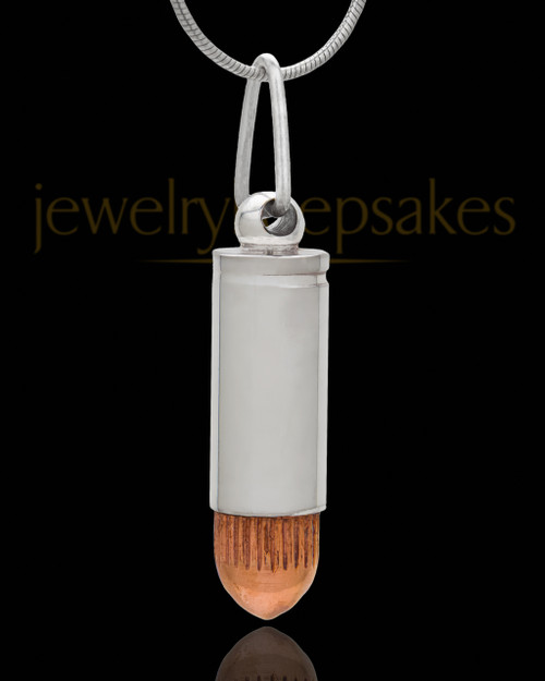 Memorial Locket Copper Tip Bullet - Eternity Collection
