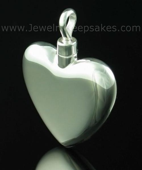 Keepsake Locket Large Heart - Sterling Silver