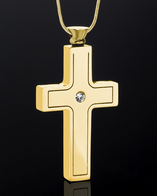 Gold Plated Truthful Cross