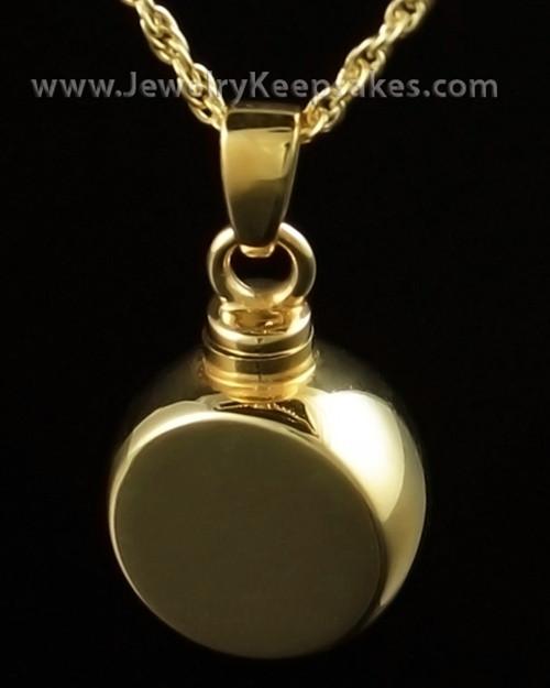 Urn Jewelry Gold Vermeil Round Signet