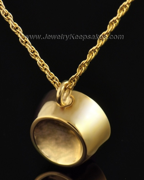 Pet Memorial Locket Gold Plated Dish