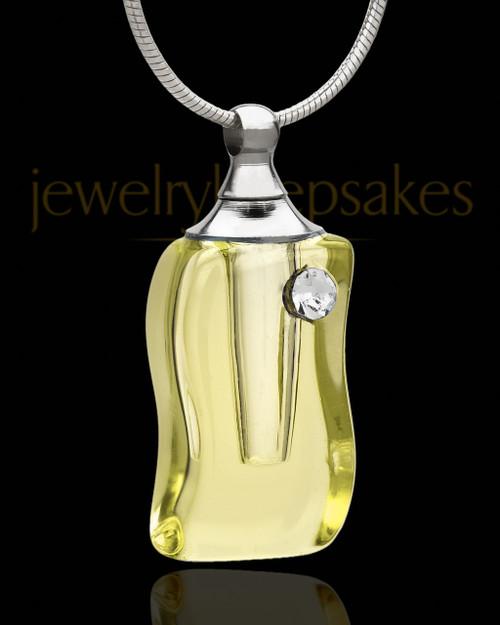 Keepsake Jewelry Golden Glass Locket