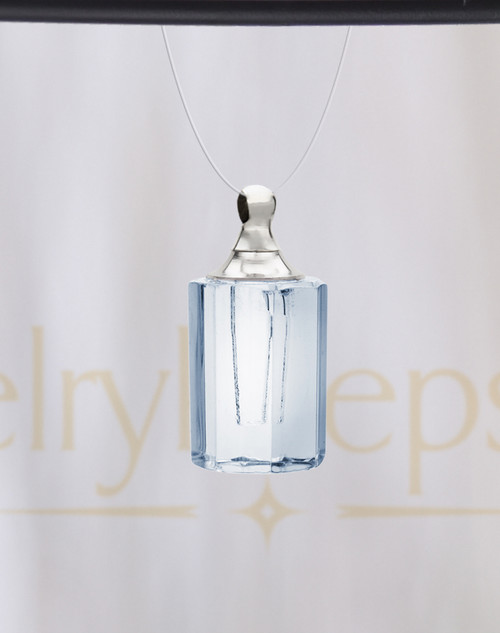 Clear Fondness Glass Reflection Pendant