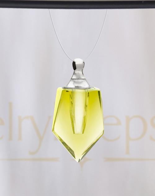 Yellow Devoted Glass Reflection Pendant