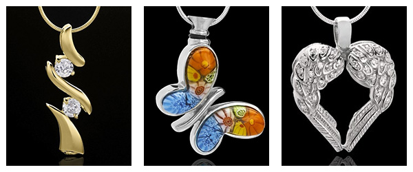 Different Styles of Cremation Jewelry