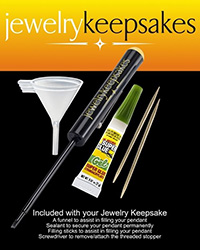 Filling Kit for Cremation Jewelry