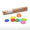 Multicolour Round Confetti - 200g tube