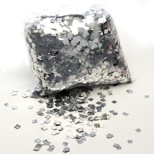 Silver Metallic Pixie Dust Confetti - 1kg bag