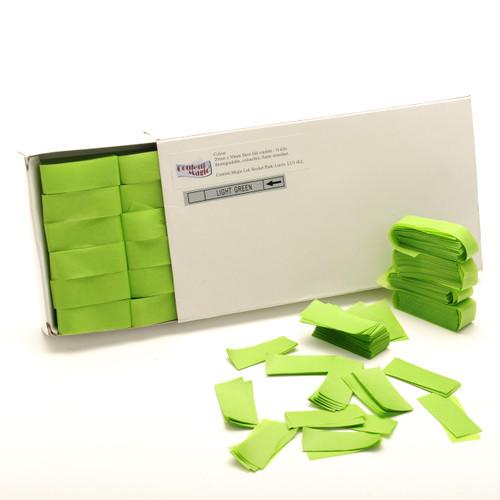 Light Green Tissue Confetti - 1/2kg box