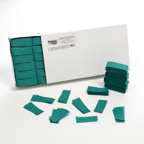 Teal Tissue Confetti - 1/2kg box