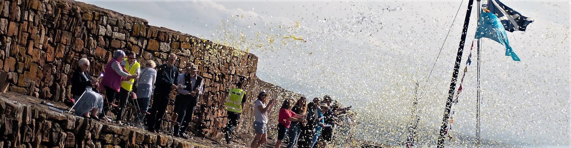 biodegradable confetti cannon