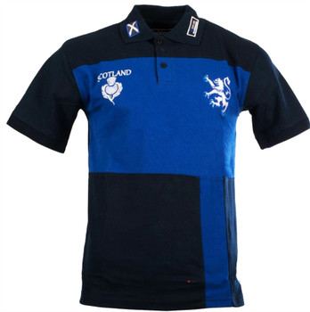 Gents Kennedy Rugby Shirt Navy-Royal Blue