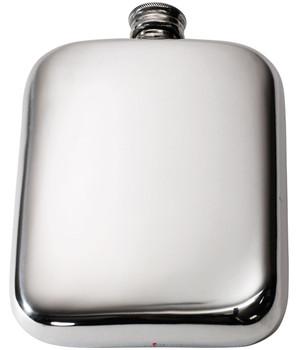 6oz Plain Pocket Flask