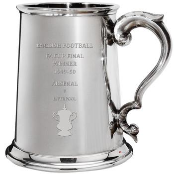 Arsenal English FA Cup Winner 1950, 1pt Pewter Tankard
